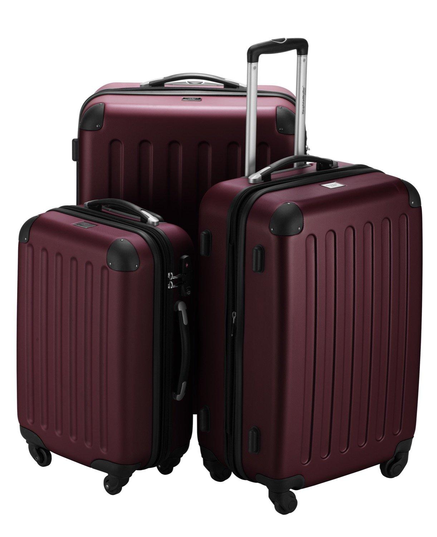HAUPTSTADTKOFFER® Hartschalen Kofferset SPREE 1203 · MATT · TSA · + DESIGN KOFFERANHÄNGER günstig