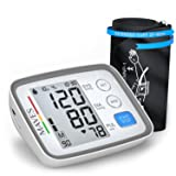 [UPGRADED 2018] Blood Pressure Monitor -Automatic Digital Upper Arm BP Cuff -Fast Systolic & Diastolic Readings -2-Person Mode-3.5
