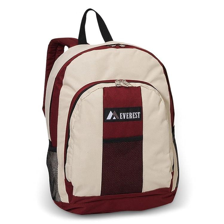 Everest Backpack Carry Shoulder Bag w/ Front & Side Pockets - Beige一站式海淘,海淘花专业海外代购网站--进口 海淘 正品 转运 价格