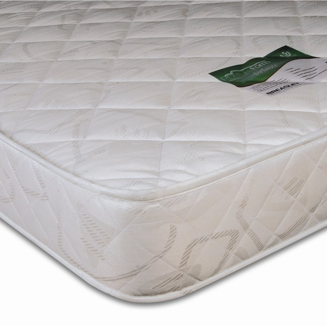 Breasley Postureform Deluxe Soft Feel Mattress, Small Single, 75 x 190 cm       reviews and more news