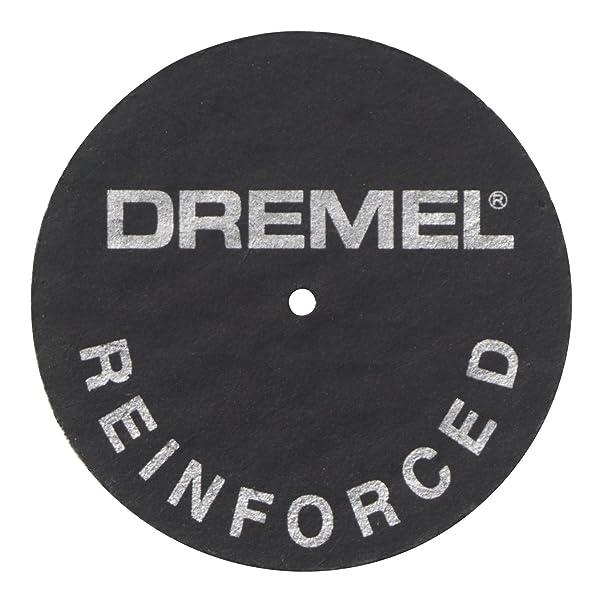 Dremel 426 Fiberglass Reinforced Cut-Off Wheels 1- 1/4 Dia., .045 Thick (Color: Multi, Tamaño: Pack of 1)