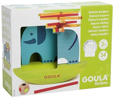 Goula - 53422 - Jeu Éducatif et Scientifique - Eléphant Équilibre