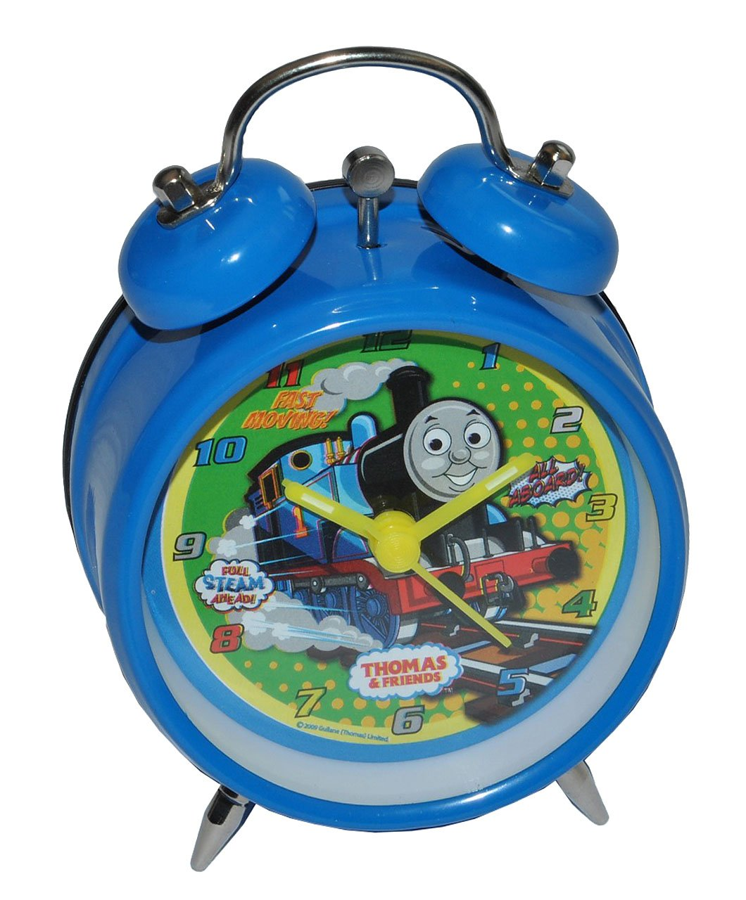 Kinderwecker Thomas die Lokomotive – für Kinder Metall Wecker Analog – Alarm Kinderwecker Metallwecker – Eisenbahn Lok Zug Züge online bestellen