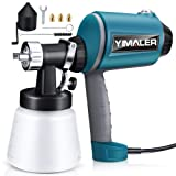 Yimaler Paint Sprayer 450W Airless Spraying Electric HVLP Spray Gun with 3 Nozzles, 3 Spray Patterns, 900ml Container, Variable Speed Easy Use for DIY Basic Painting Perfect for Beginner (Color: Lake Blue)