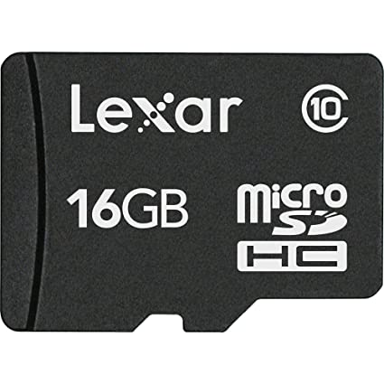Lexar 16  GB Class 10 microSDHC Memory Card 10 MB s Read Speed available at Amazon for Rs.2252