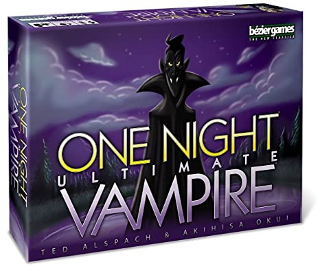 One Night Ultimate Vampire - Card Game - Kartenspiel - Englisch - English