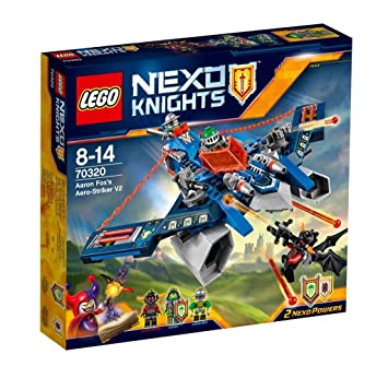 LEGO - 70320 - Nexo Knights - Jeu de Construction -L'Aero Striker V2 d'Aaron Fox
