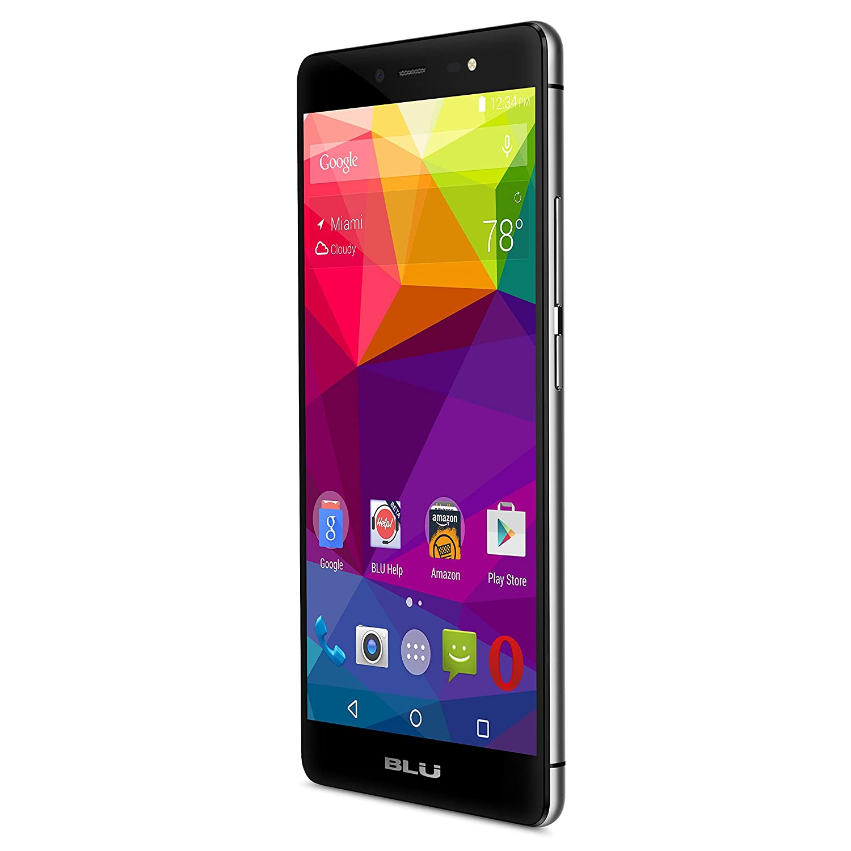 BLU Life One X - 4G LTE Smartphone - GSM Unlocked - Black