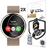 for MyKronoz ZeRound SMARTWATCH - FITS All - Screen Protector with Lifetime Replacement Warranty Invisible Protective Screen Guard - Smooth/Self-Healing/Bubble -Free by IPG (Color: Clear)