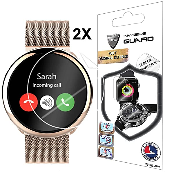 For Mykronoz Zeround Smartwatch Fits All Screen Protector With Lifetime Replacement Warranty Invisible Protective Screen Guard