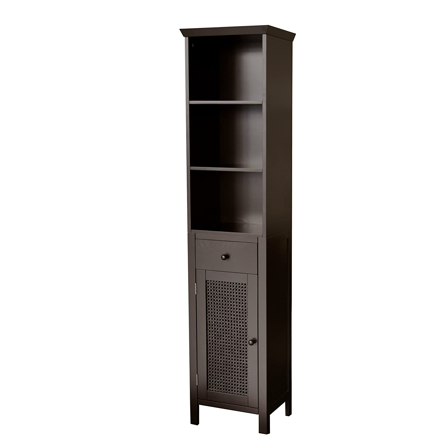 Savannah Linen Tower Dark Espresso