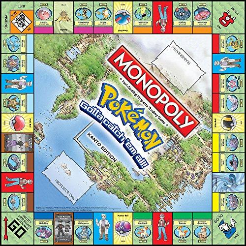 Pokemon-Monopoly-Kanto-Edition