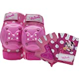 Bell Minnie Mouse Protective Gear with Elbow Pads/Knee Pads & Gloves (Color: Minnie Mouse)
