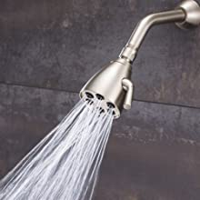 Speakman S-2252-BN Anystream Icon 6-Jet Showerhead in Brushed Nickel