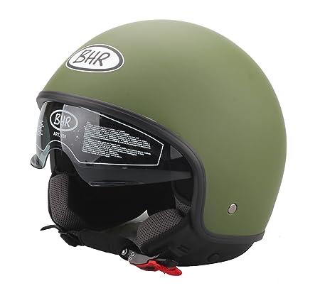 BHR 93251 Casque, Vert Militaire Mat, Taille : 57-58