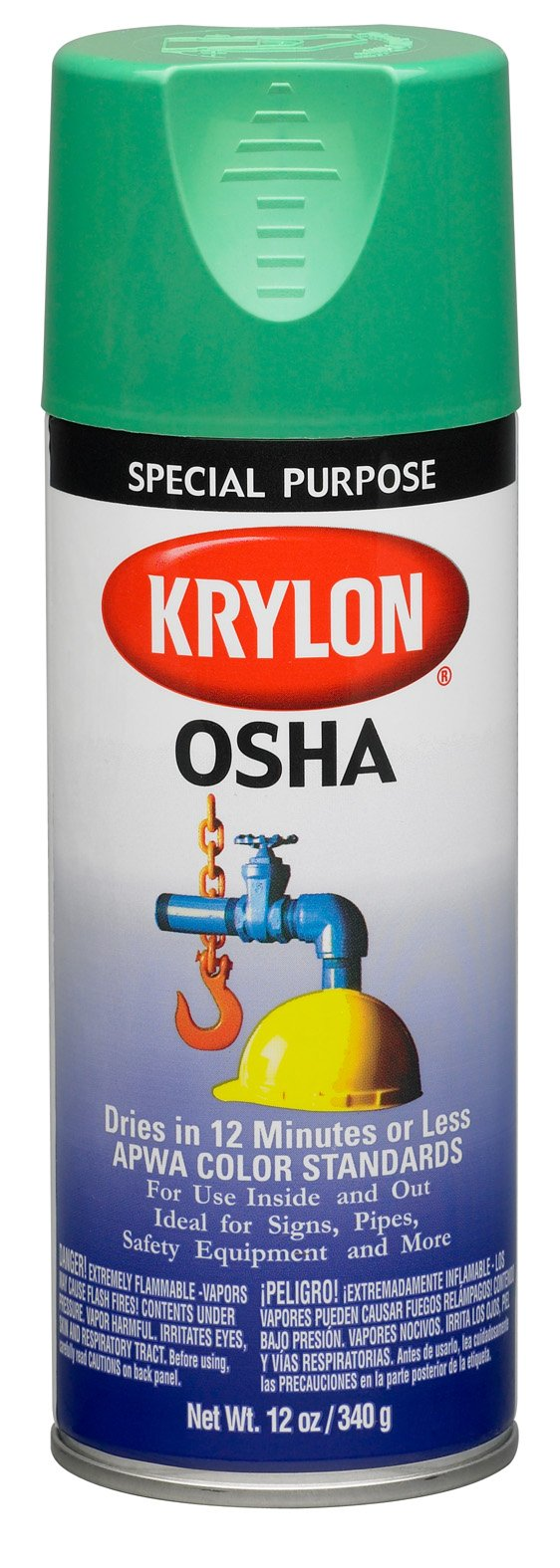 Safety Green Paint Krylon 2012 Safety Green Osha