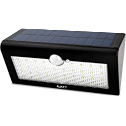 Aukey 36 LED Solar Wall Lights with PIR Sensor Waterproof Outdoor Security Light - Corridor