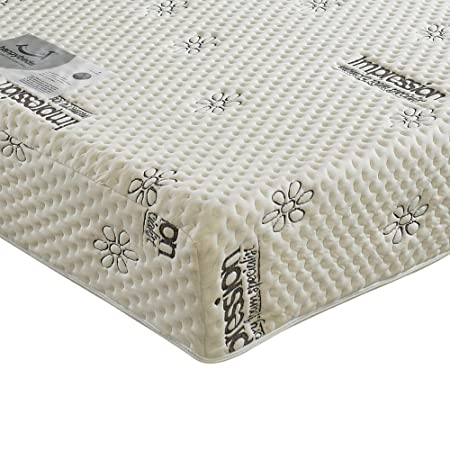 Happy Beds Visco 3000 Orthopaedic Memory Foam Regular Mattress - UK King