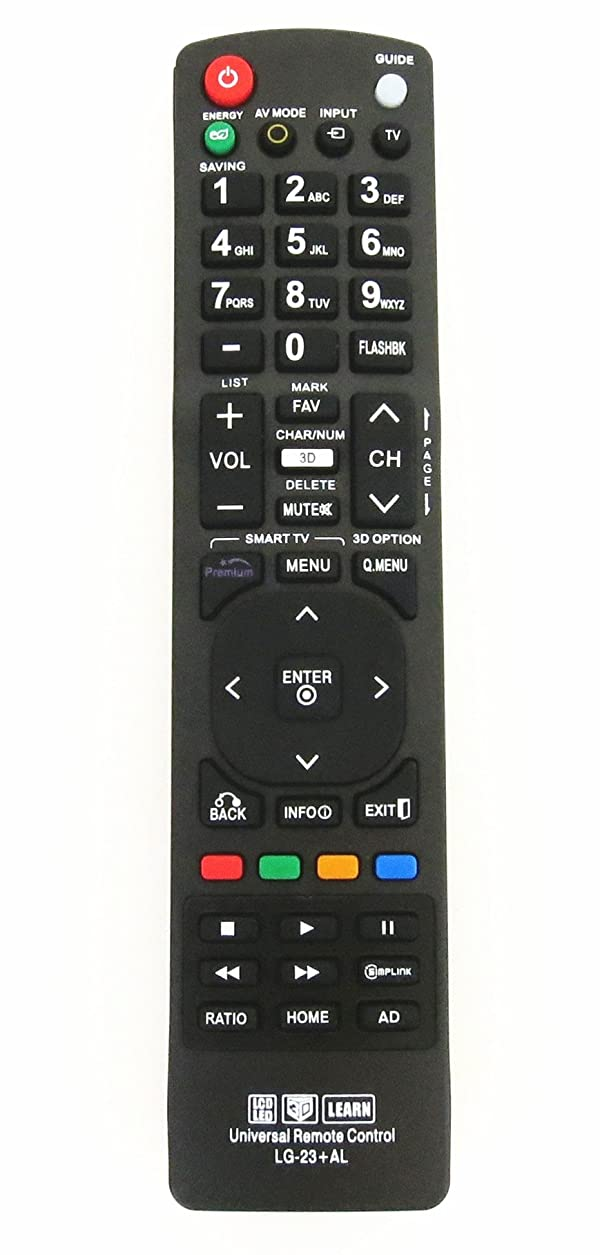 Gvirtue Universal Remote Control for Almost All LG Brand LCD LED HD TV, 3D TV, Smart TV