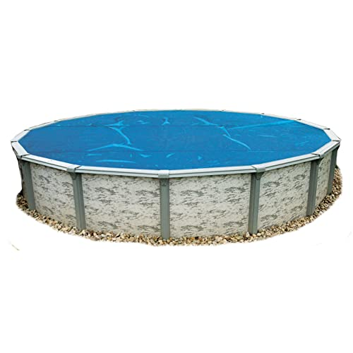 Blue Wave 15-Feet Round 8-mil Solar Blanket for Above Ground Pools Blue