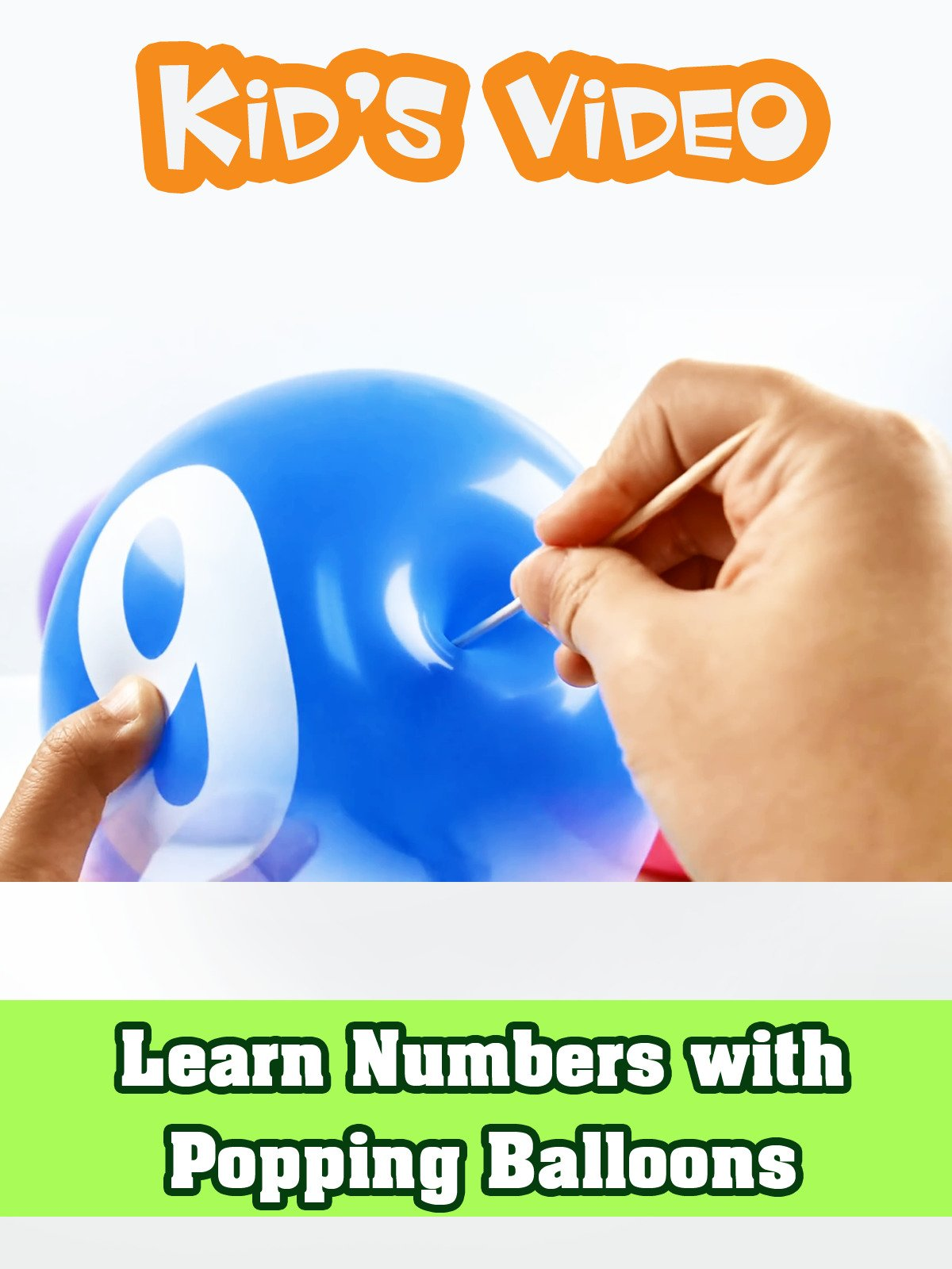 Learn Numbers with Popping Balloons on Amazon Prime Instant Video UK