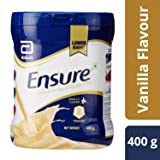 ABBOTT ENSURE Vanilla Drink Powder Dietary Supplement for Adults of all Age (400 Grams) (Tamaño: 400 Grams)
