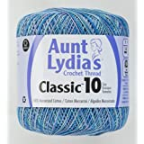 Coats Crochet Classic Crochet Thread, 1 Pack, Ocrean (Color: Ocrean, Tamaño: 1 Pack)