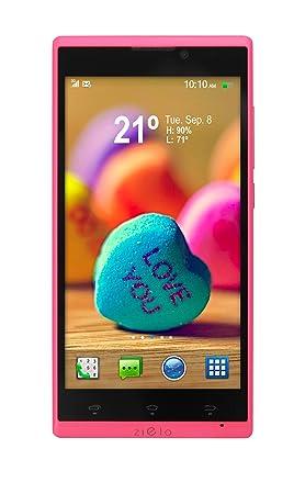 Woxter Zielo Z400 Smartphone débloqué (5 pouces - 8 Go) Rose (import Espagne)