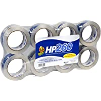 8-Pack Duck Brand HP260 High Performance 3.1 Mil Packaging Tape