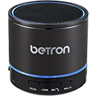 Betron KBS08 Wireless Portable Travel Bluetooth Speaker (Titanium)