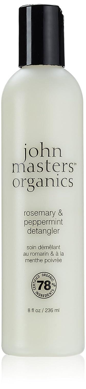 ジョンマスターオーガニック ローズマリー&ペパーミントデタングラー 236ml
