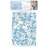 Sara Siganture S-WW-EF5-EH Sara Signature Winter Wonderland-5x7 Entwined Holly Embossing Folder, White (Color: White)