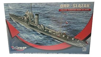 """Mirage Hobby, 1: 350 Žchelle, ORP """"Slazak"""" polonais torpilleur classe, plastique maquette"""