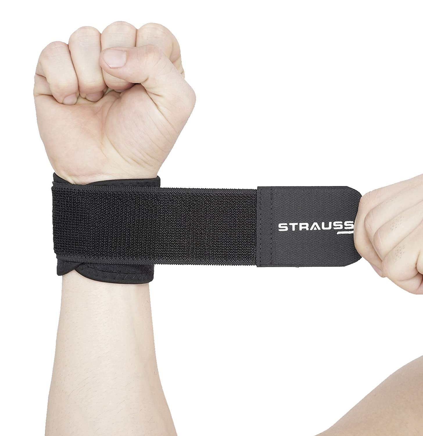 Upto 60% Off On Fitness Gear By Amazon | Strauss Wrist Support, Free Size (Black) @ Rs.162