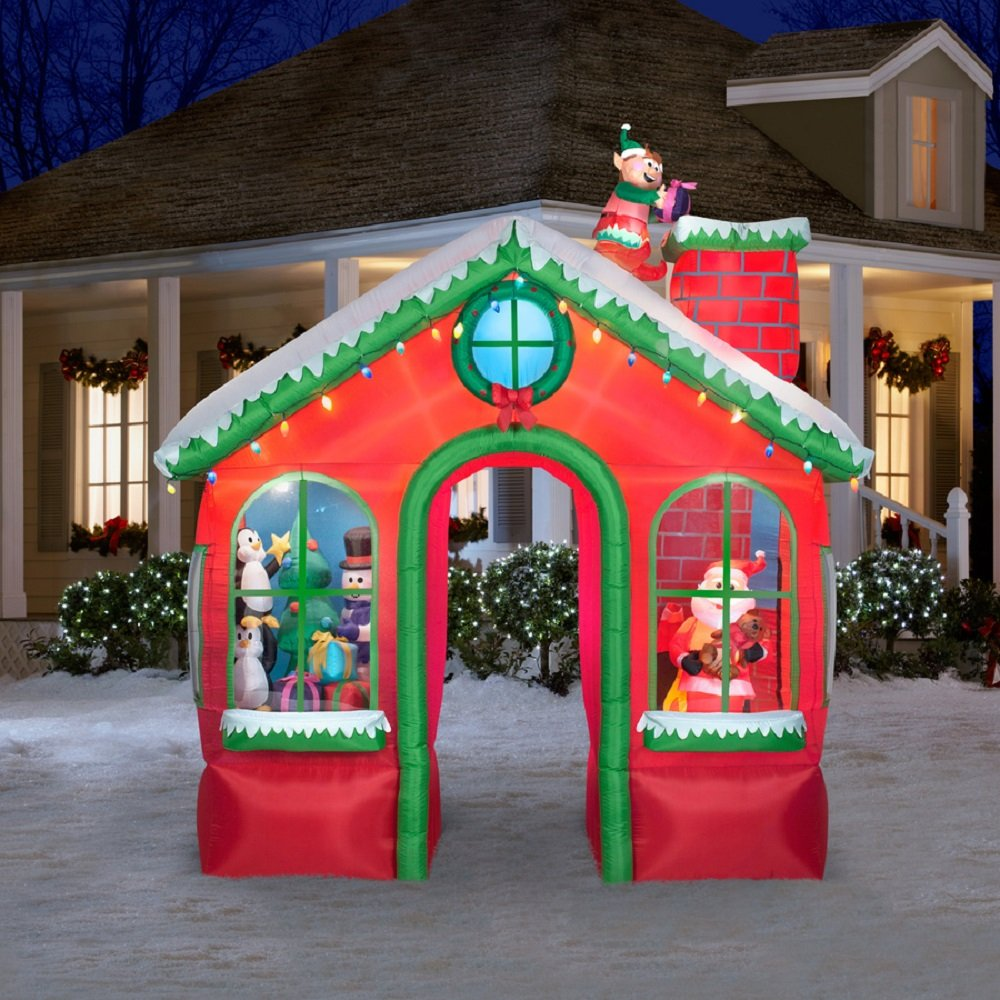 Outdoor Christmas Decorations: Christmas Outdoor Inflatables Page Two
