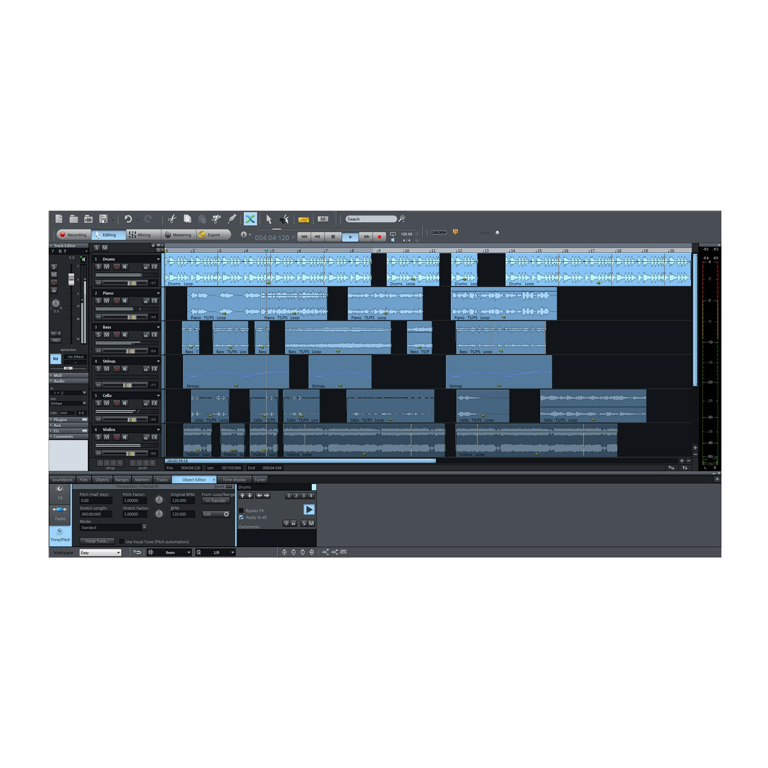 Magix samplitude music studio 2014 academic version for Music studio design software