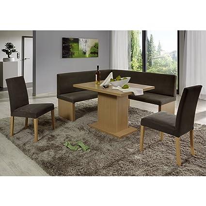Eckbank Eckbankgruppe Essgruppe CHARLSON Essecke Bank Tisch 2 Stuhle Buche