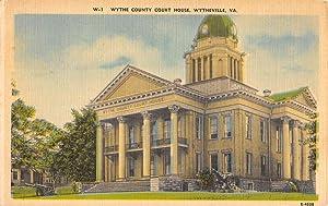 Wythe Court House om Wytheville, Virginia