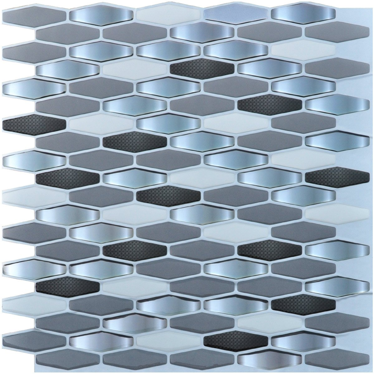 Art3d Peel And Stick Kitchen Backsplash Wall Tile Pack Of