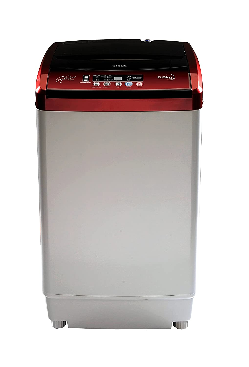 Onida WO60TSPLNEMO Fully-automatic Top-loading Washing Machine (6 Kg, Lava Red) By Amazon @ Rs.9,990