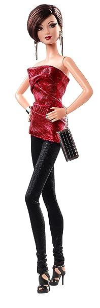 Barbie - Cjf51 - The Barbie Look - Rouge Et Noir