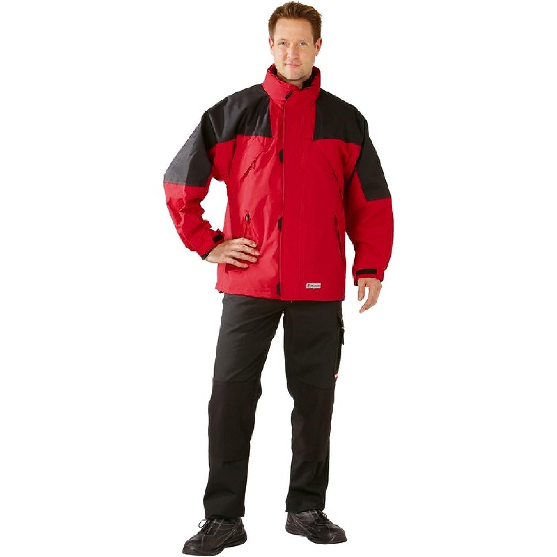 PLANAM Redwood Jacke 2 in 1 – rot/schwarz – Größe: S S,Rot/Schwarz jetzt kaufen