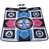 Zerone Dance Pad, Non-Slip Wear-Resistant Dancing Step Dance Mat Pad Dancer Blanket t with USB for PC Support Windows 98/2000/ XP/ 7 OS (Color: default)