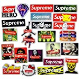 Fashion Laptop Stickers Waterproof Skateboard Pad Macbook Car Snowboard Bicycle Luggage Decor (24 PCS)