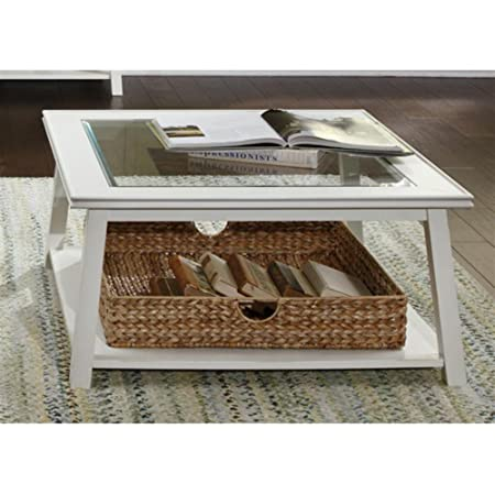 Summerhill Square Linen Coffee Table
