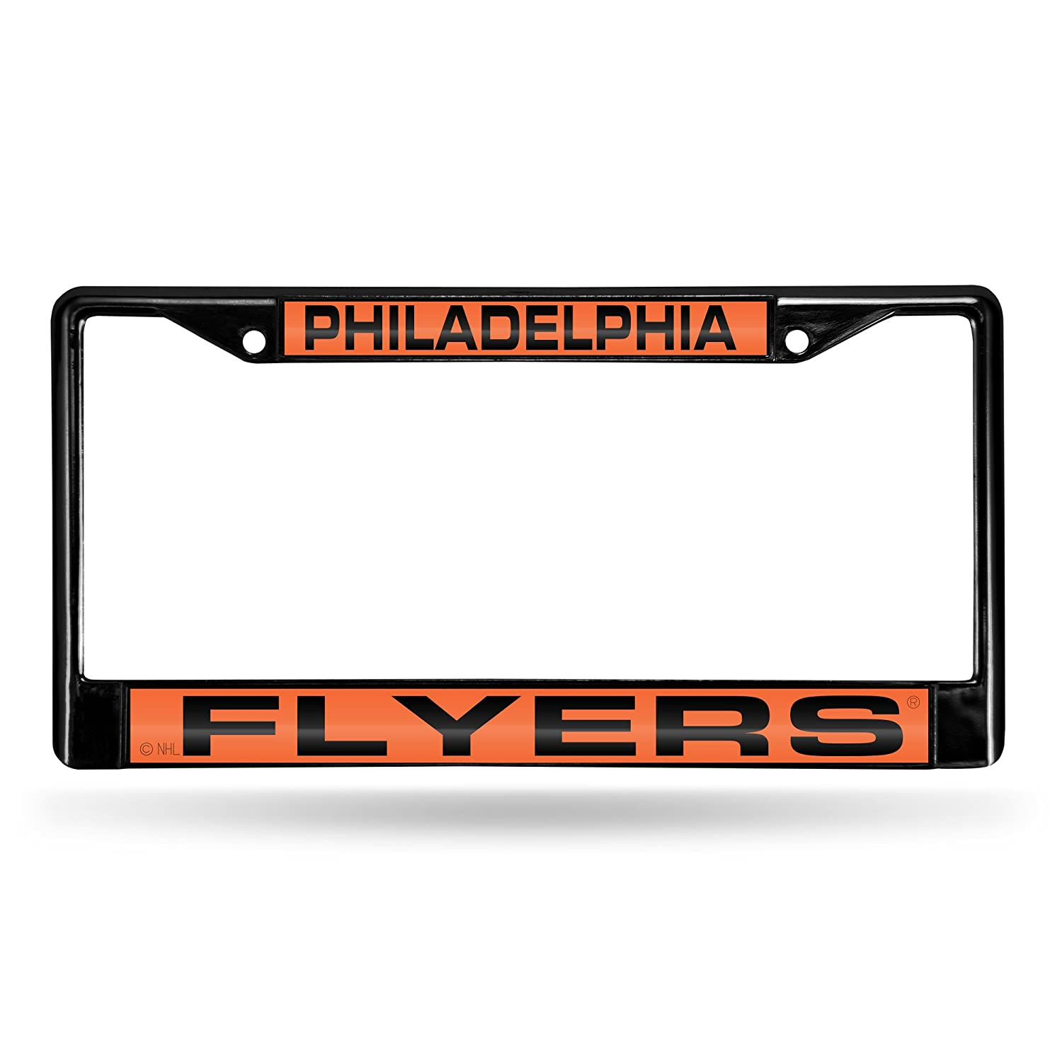 PHILADELPHIA FLYERS NHL LASER CUT BLACK LICENSE PLATE FRAME иглы новофайн 30g 0 3 8 мм n100