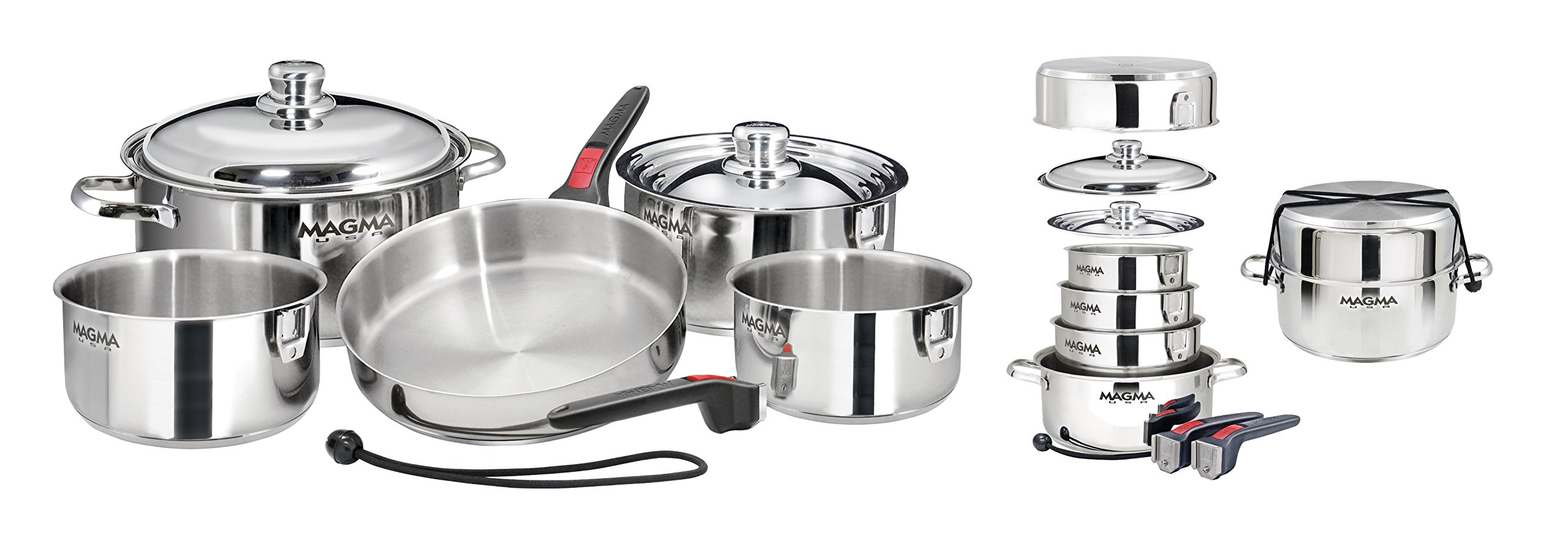 Magma Products A10 360l Ind 10 Piece Gourmet Nesting