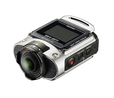 Ricoh WG-M2 Caméra d'action étanche 8 Mpix Wi-Fi Ecran LCD 1.5'' - Argent