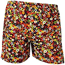 Shy Guy Pleasure Wear Men's Cotton Boxer Shorts (Multicolor)