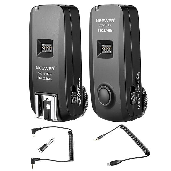 Neewer Control remoto disparador para Sony A7 A7r A7II A7RII A6000 A3000